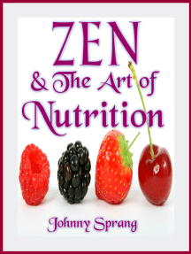 Zen and The Art of Nutrition