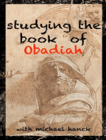 Studying the Book of Obadiah