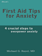 First Aid Tips for Anxiety