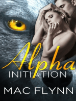Alpha Initiation (Alpha Blood #1) (Werewolf Shifter Romance)