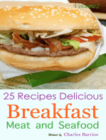 25 Recipes Delicious Breakfast Meat and Seafood Volume 2