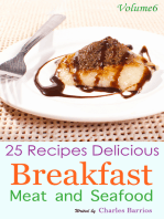 25 Recipes Delicious Breakfast Meat and Seafood Volume 6