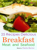 25 Recipes Delicious Breakfast Meat and Seafood Volume 4