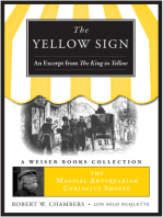 Yellow Sign, An Excerpt from the King in Yellow