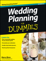 Wedding Planning For Dummies By Marcy Blum Book Read Online