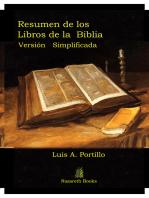 Resumen de los Libros de la Biblia