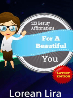 123 Beauty Affirmations For A Beautiful You