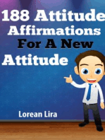 188 Attitude Affirmations For A New Attitude