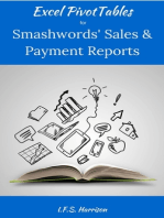 Excel PivotTables for SmashwordsTM Sales and Payment Reports