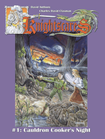Cauldron Cooker's Night (Epic Fantasy Adventure Series, Knightscares Book 1)