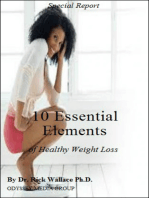 10 Essential Elements of Healthy Weight Loss