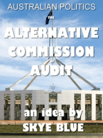 Australian Politics -The Alternative Commission of Audit