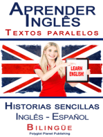 Aprender Inglês - Textos paralelos - Historias sencillas (Inglês - Español) Bilingüe