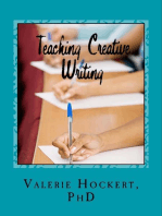 Teaching Creative Writing A Teaching Handbook with Weekly Lesson Plans