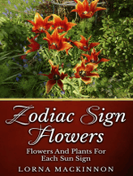 Zodiac Sign Flowers