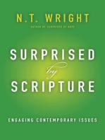 Surprised by Scripture