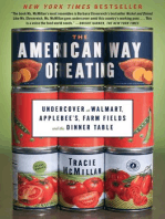 The American Way of Eating