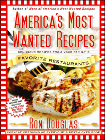 America S Most Wanted Recipes By Ron Douglas Book Read Online