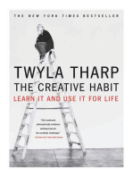 The Creative Habit