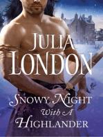 Snowy Night with a Highlander