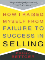 How I Raised Myself From Failure to Success in Selling