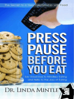 Press Pause Before You Eat