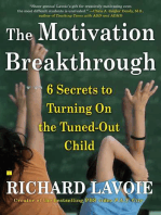 The Motivation Breakthrough