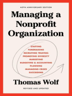 Managing a Nonprofit Organization
