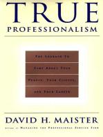 True Professionalism