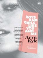 Boys and Girls Like You and Me