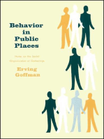 Behavior in Public Places