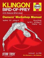 Klingon Bird-of-Prey Haynes Manual