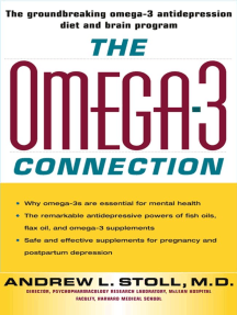 The Omega-3 Connection: The Groundbreaking Antidepression Diet and Brain Program
