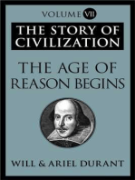 The Age of Reason Begins: The Story of Civilization, Volume VII