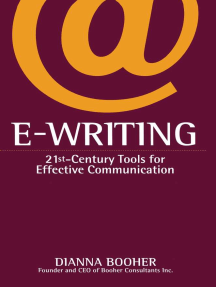 E-Writing: 21st-Century Tools for Effective Communication