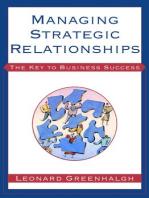 Managing Strategic Relationships