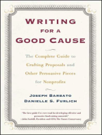 Writing For a Good Cause