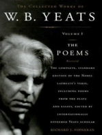 The Collected Works of W.B. Yeats Volume I