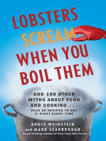 Lobsters Scream When You Boil Them