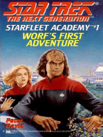 Worf's First Adventure
