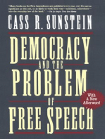 Democracy and the Problem of Free Speech