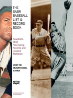 The SABR Baseball List & Record Book
