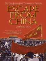 Escape From China