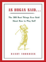 As Hogan Said...