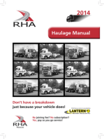 The Road Haulage Manual 2014