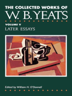 The Collected Works of W.B. Yeats Vol. V