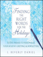 Finding the Right Words for the Holidays