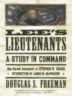 Lee's Lieutenants Third Volume Abridged