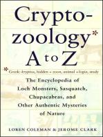 Cryptozoology A To Z