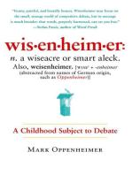 Wisenheimer: A Childhood Subject to Debate